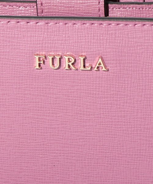 FURLA(フルラ)/【FURLA】FURLA フルラ 二つ折り財布 BABYLON M ZIP AROUND BABYLON PR85 AZALEA f/992614_img06