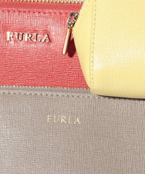 FURLA(フルラ)/【FURLA】ポーチ ELECTRA L COSMETIC CASE SET ELECTRA EL95 VERMIGLIO f+SABBIA b+SOLE f/1000321_img09