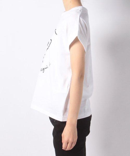 To b. by agnes b.(トゥービー バイ アニエスベー)/W984 TS メッセージTシャツ/4405W984E19_img02