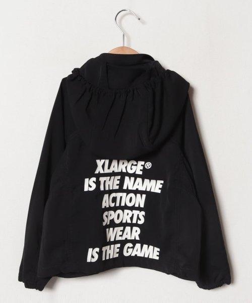 XLARGE KIDS(エクストララージ キッズ)/メッシュ切り替えブルゾンパーカー/9491302_img02