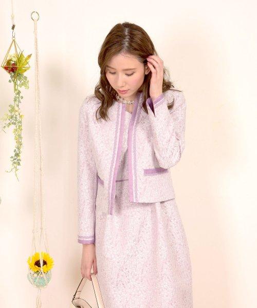 Dear Princess(ディアプリンセス)/【セットアップ対応商品】小花ジャガードジャケット/3087069_img08