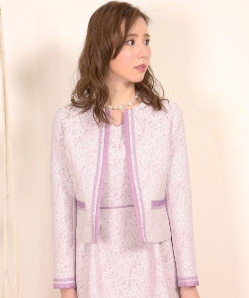 Dear Princess(ディアプリンセス)/【セットアップ対応商品】小花ジャガードジャケット/3087069_img10