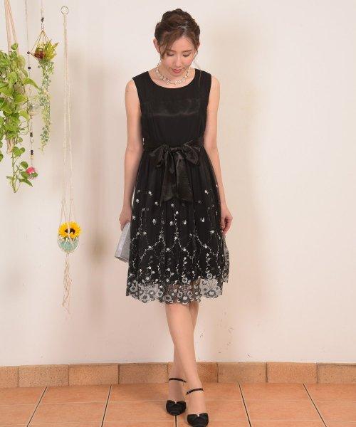 Dear Princess(ディアプリンセス)/スカラ刺繍ドレスワンピース/3089137_img02