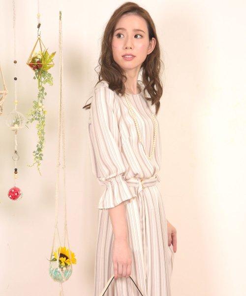 Dear Princess(ディアプリンセス)/【セットアップ対応商品】マルチカラーストライプブラウス/3081051_img05