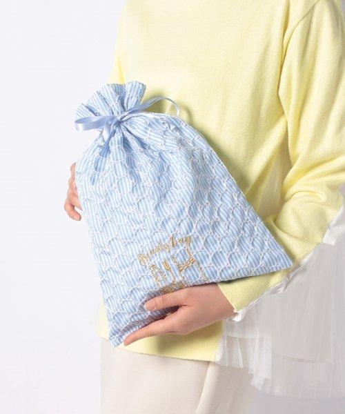 Afternoon Tea LIVING(アフタヌーンティー・リビング)/サークルレース刺繍巾着/FR3219102581_img04