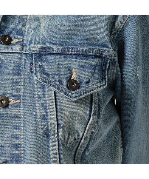 Levi's(リーバイス)/TYPEIIIボーイフレンドトラッカージャケット/ブルー/HURRICAN/14.56oz/275500004_img07