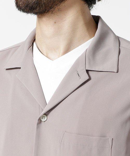 nano・universe(ナノ・ユニバース)/ストレッチオープンカラーシャツ 長袖/6749120020_img02