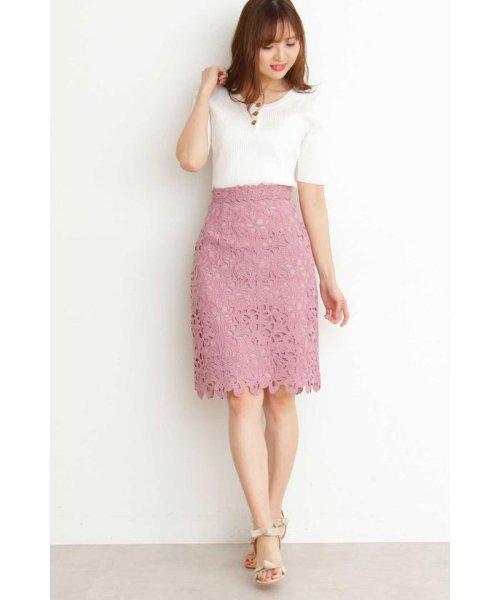 PROPORTION BODY DRESSING(プロポーション ボディドレッシング)/◆リボンケミカルタイトスカート/1219120303_img02