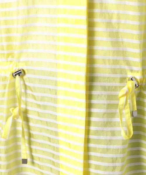 LAPINE BLANCHE(ラピーヌ ブランシュ)/シルクコットン ボーダー羽織りブラウス/120660_img04