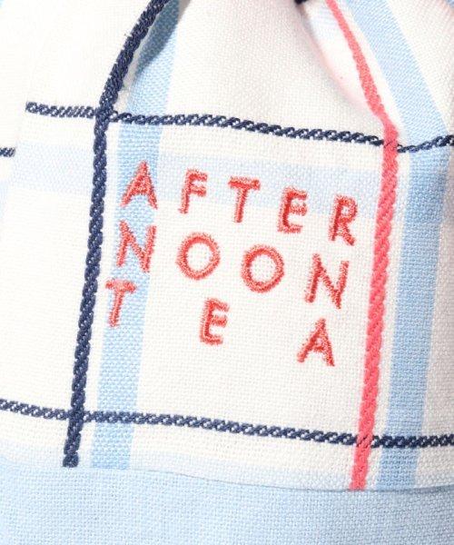 Afternoon Tea LIVING(アフタヌーンティー・リビング)/マドラスチェック巾着/FW6019200755_img04