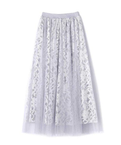 PROPORTION BODY DRESSING(プロポーション ボディドレッシング)/◆チュールレーススカート/1219120900_img08