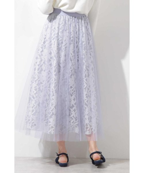 PROPORTION BODY DRESSING(プロポーション ボディドレッシング)/◆チュールレーススカート/1219120900_img11