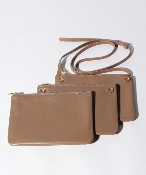 CELINE(セリーヌ)/【CELINE】ショルダーバッグ/TRIO SMALL【LIGHT CAMEL】/187603BEB02BA_img05