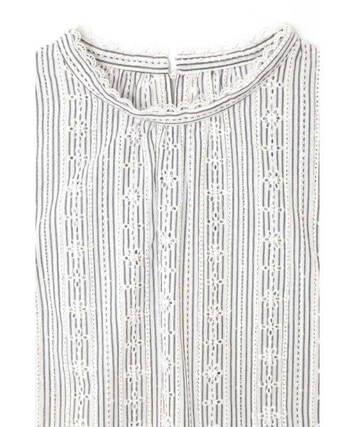 PROPORTION BODY DRESSING(プロポーション ボディドレッシング)/コットンアイレットスタンドブラウス/1219110402_img08