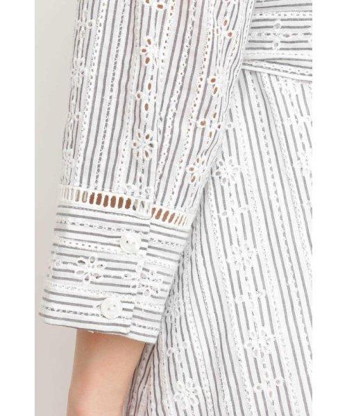 PROPORTION BODY DRESSING(プロポーション ボディドレッシング)/コットンアイレットロングワンピース/1219140402_img07