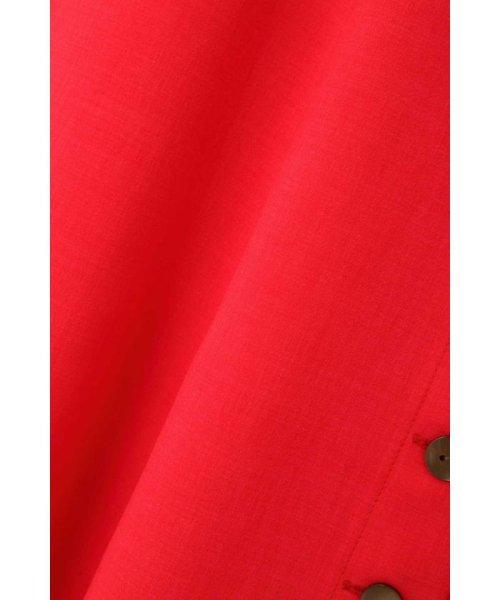 PROPORTION BODY DRESSING(プロポーション ボディドレッシング)/麻ライクフレアー釦ワンピース/1219140403_img06