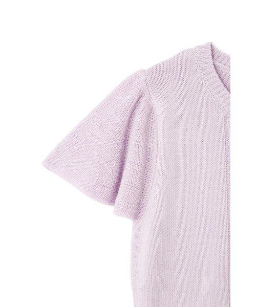 PROPORTION BODY DRESSING(プロポーション ボディドレッシング)/畦フレアスリーブアイレットニット/1219170401_img07