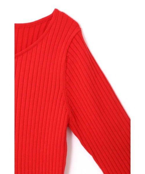 PROPORTION BODY DRESSING(プロポーション ボディドレッシング)/ハートネック袖フリルニット/1219170403_img09