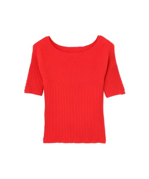 PROPORTION BODY DRESSING(プロポーション ボディドレッシング)/2Way袖パールボートニット/1219170404_img05