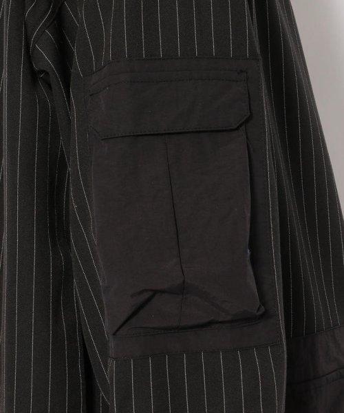 LHP(エルエイチピー)/DankeSchon/ダンケシェーン/ストライプBIGシャツ/6016191057-60_img04