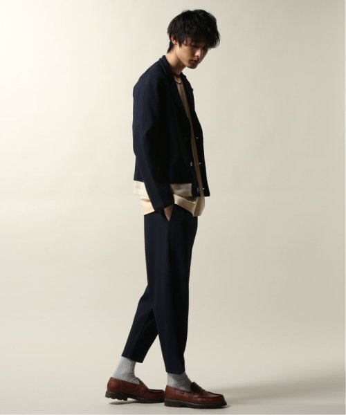 JOURNAL STANDARD relume Men's(ジャーナルスタンダード レリューム メンズ)/DROLE DE MONSIEUR / ドロールドムッシュ  Cropped Textured Pants/19030465002810_img01