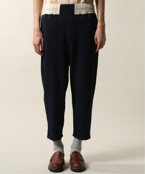 JOURNAL STANDARD relume Men's(ジャーナルスタンダード レリューム メンズ)/DROLE DE MONSIEUR / ドロールドムッシュ  Cropped Textured Pants/19030465002810_img02