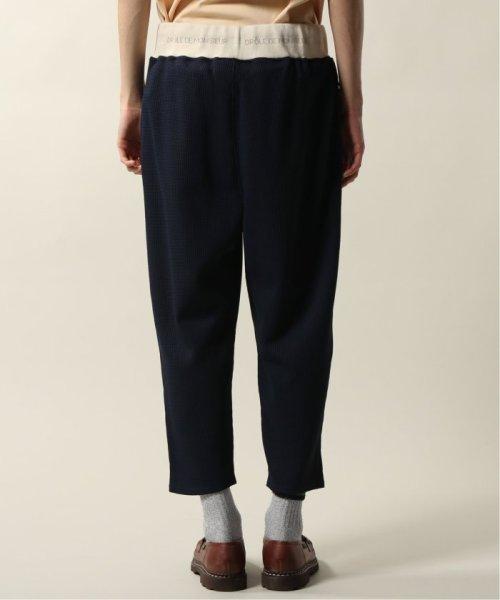 JOURNAL STANDARD relume Men's(ジャーナルスタンダード レリューム メンズ)/DROLE DE MONSIEUR / ドロールドムッシュ  Cropped Textured Pants/19030465002810_img04