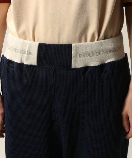 JOURNAL STANDARD relume Men's(ジャーナルスタンダード レリューム メンズ)/DROLE DE MONSIEUR / ドロールドムッシュ  Cropped Textured Pants/19030465002810_img05