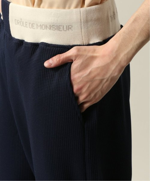 JOURNAL STANDARD relume Men's(ジャーナルスタンダード レリューム メンズ)/DROLE DE MONSIEUR / ドロールドムッシュ  Cropped Textured Pants/19030465002810_img07