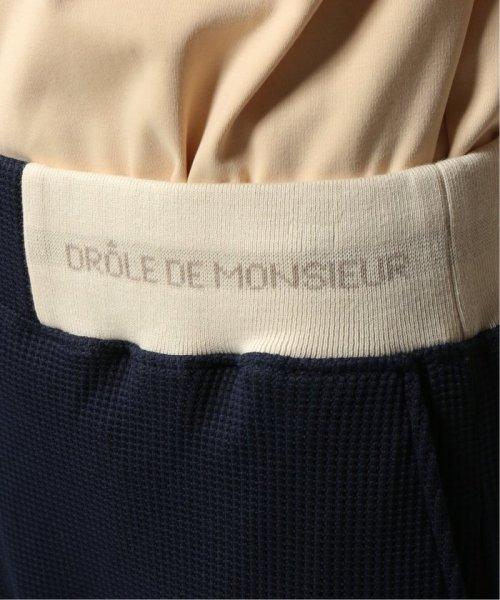 JOURNAL STANDARD relume Men's(ジャーナルスタンダード レリューム メンズ)/DROLE DE MONSIEUR / ドロールドムッシュ  Cropped Textured Pants/19030465002810_img08