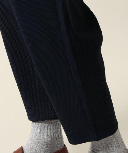 JOURNAL STANDARD relume Men's(ジャーナルスタンダード レリューム メンズ)/DROLE DE MONSIEUR / ドロールドムッシュ  Cropped Textured Pants/19030465002810_img09