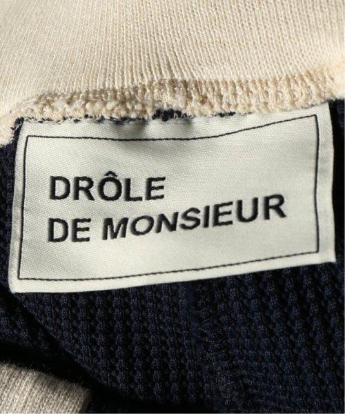 JOURNAL STANDARD relume Men's(ジャーナルスタンダード レリューム メンズ)/DROLE DE MONSIEUR / ドロールドムッシュ  Cropped Textured Pants/19030465002810_img10