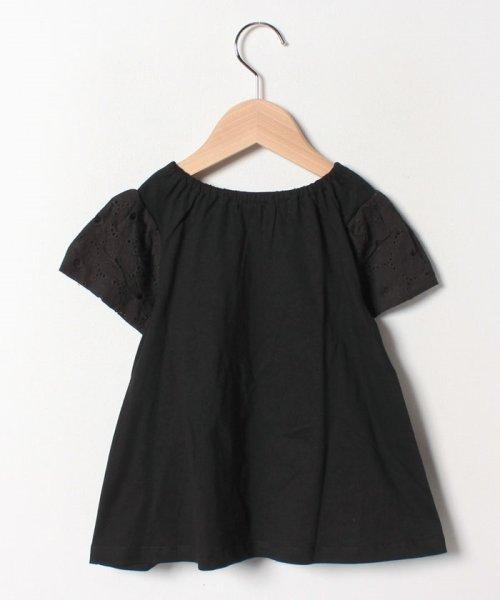 Gemeaux(ジェモー)/レース切替半袖Tシャツ/GA8299_img01