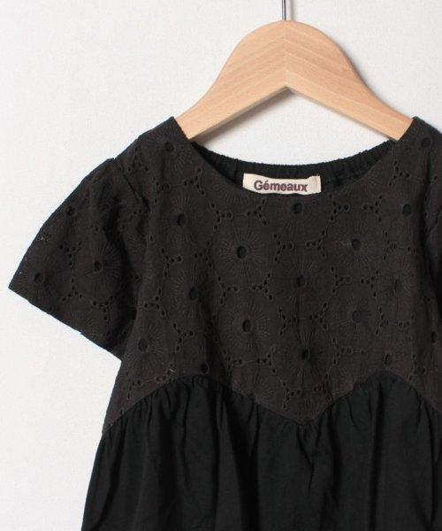 Gemeaux(ジェモー)/レース切替半袖Tシャツ/GA8299_img02