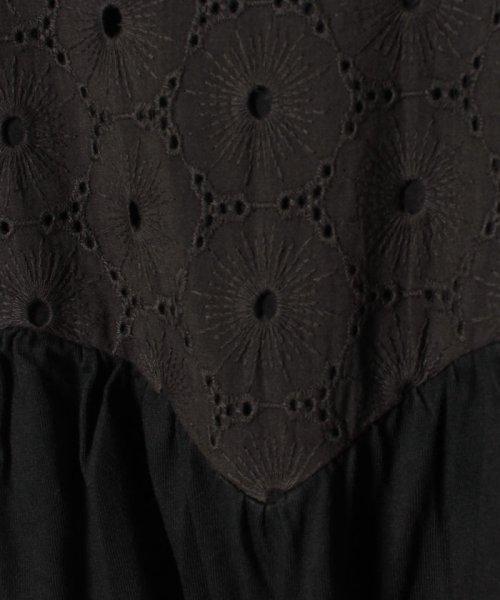 Gemeaux(ジェモー)/レース切替半袖Tシャツ/GA8299_img03