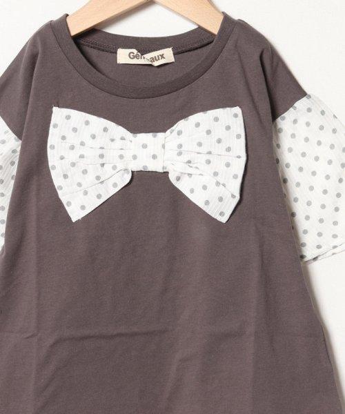 Gemeaux(ジェモー)/リボン半袖Tシャツ/GA8311_img02
