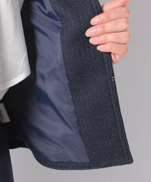 form forma(フォルムフォルマ)/ノーカラーツイードジャケット&ワイドパンツ セットアップスーツ/0502300_img16