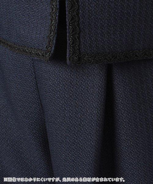 form forma(フォルムフォルマ)/ノーカラーツイードジャケット&ワイドパンツ セットアップスーツ/0502300_img21