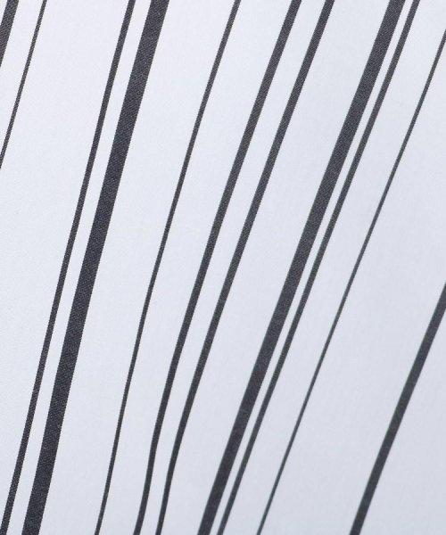INDIVI(インディヴィ)/【マシンウォッシュ/UV/接触冷感】シルキーストライプ シャツ/20190112786002_img07