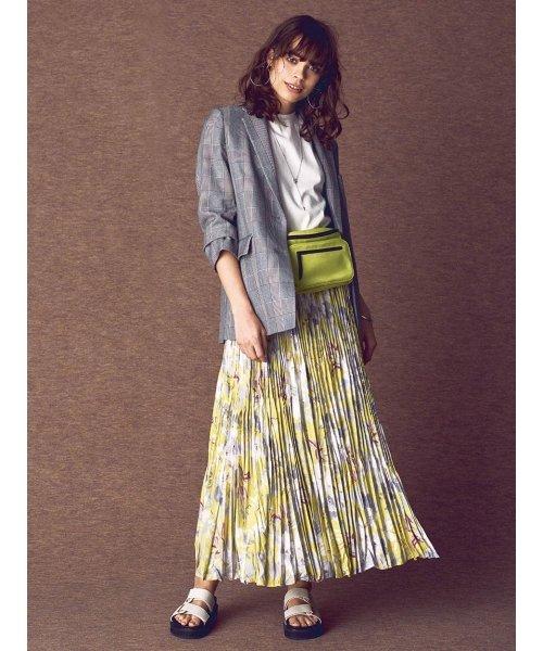 Mila Owen(ミラオーウェン)/ワッシャーマキシ丈巻きスカート/09WFS191066_img01