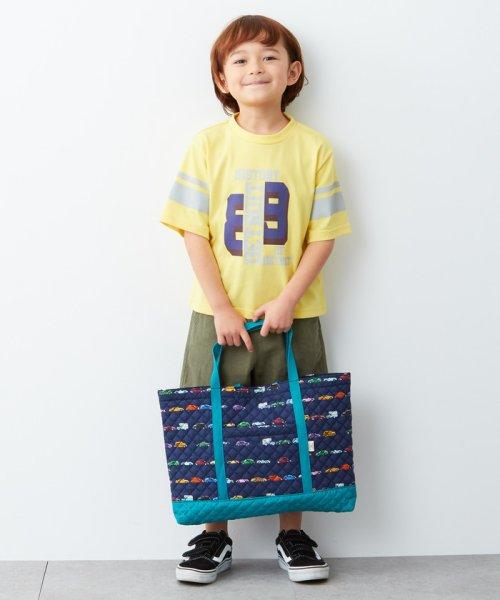 green label relaxing (Kids)(グリーンレーベルリラクシング(キッズ))/キルトBAG 2点セット/38326990773_img17