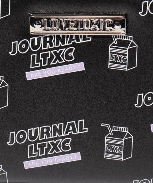 Lovetoxic(ラブトキシック)/ショルダーつきミルクイラストフェイクレザー長財布/8391458_img05