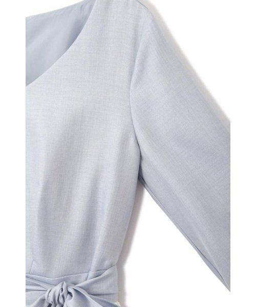 PROPORTION BODY DRESSING(プロポーション ボディドレッシング)/プリーツ切替フレアワンピース/1219140304_img09