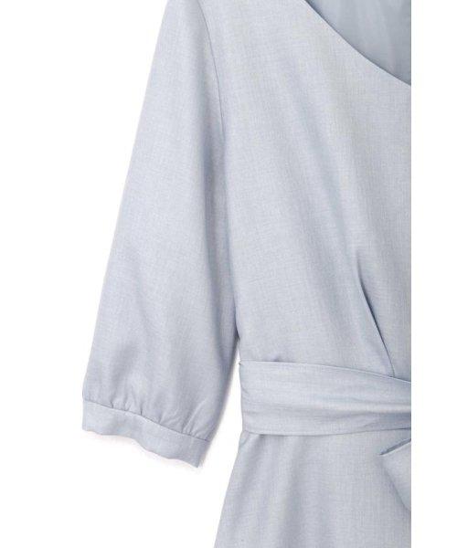 PROPORTION BODY DRESSING(プロポーション ボディドレッシング)/プリーツ切替フレアワンピース/1219140304_img10