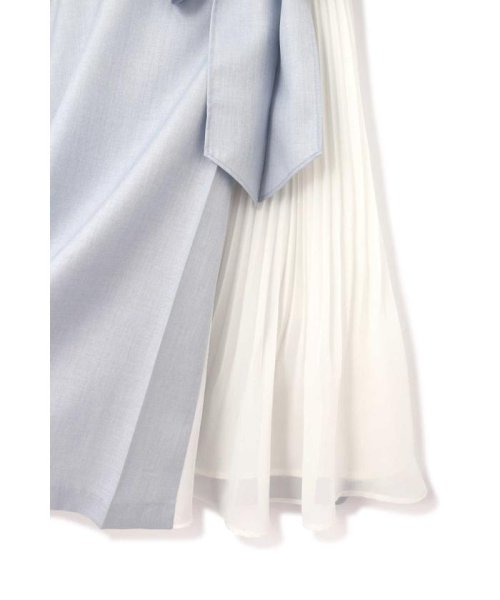 PROPORTION BODY DRESSING(プロポーション ボディドレッシング)/プリーツ切替フレアワンピース/1219140304_img12