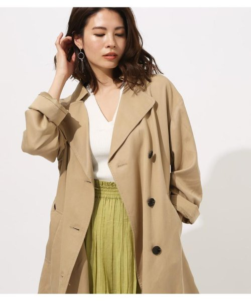AZUL by moussy(アズールバイマウジー)/LYOCELL TRENCH COAT/250CSA30-466B_img09
