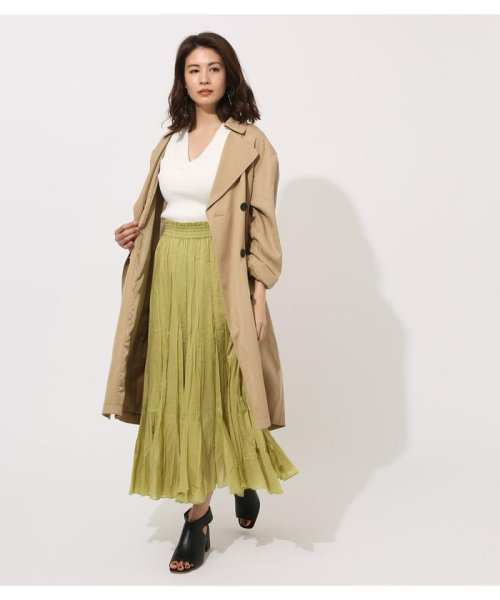 AZUL by moussy(アズールバイマウジー)/LYOCELL TRENCH COAT/250CSA30-466B_img11