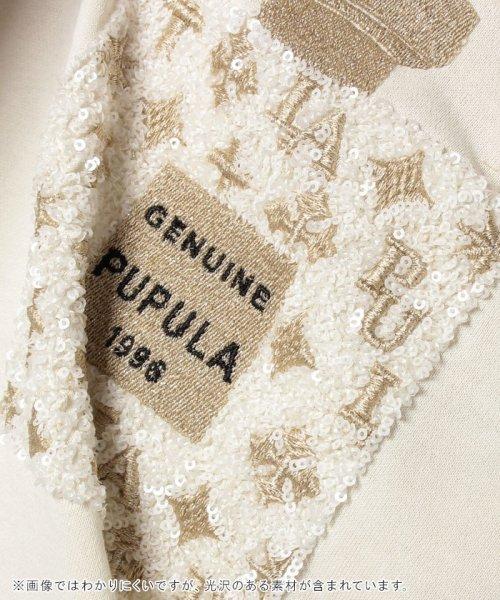 en recre(アン レクレ)/【PUPULA】パフューム刺繍カットソー/6901133_img04