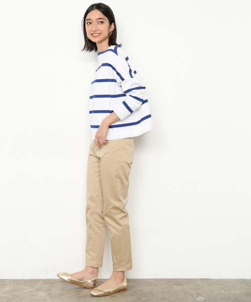 ADAM ET ROPE'(アダム エ ロペ)/BIG MARINE BOATNECK SHIRT/EUM39470_img28
