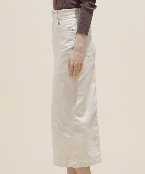 nano・universe(ナノ・ユニバース)/I-line slim fit skirt/6699130009_img08